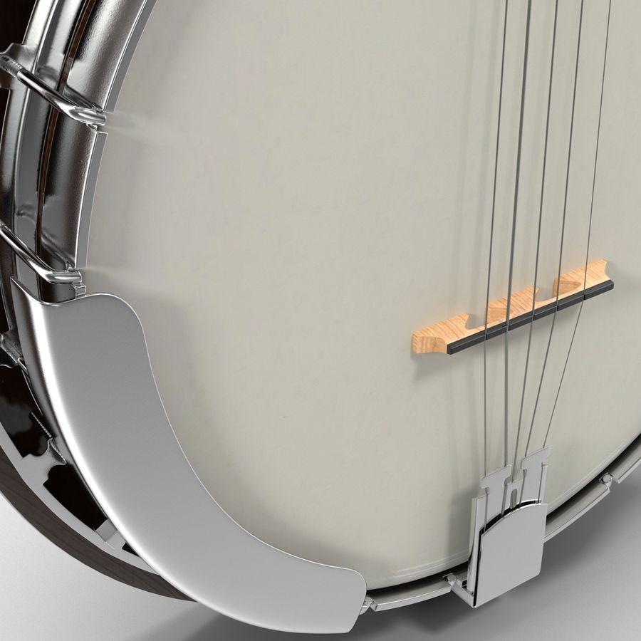 Banjo royalty-free 3d model - Preview no. 18