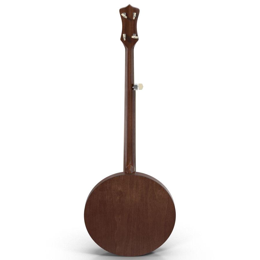 Banjo royalty-free 3d model - Preview no. 7