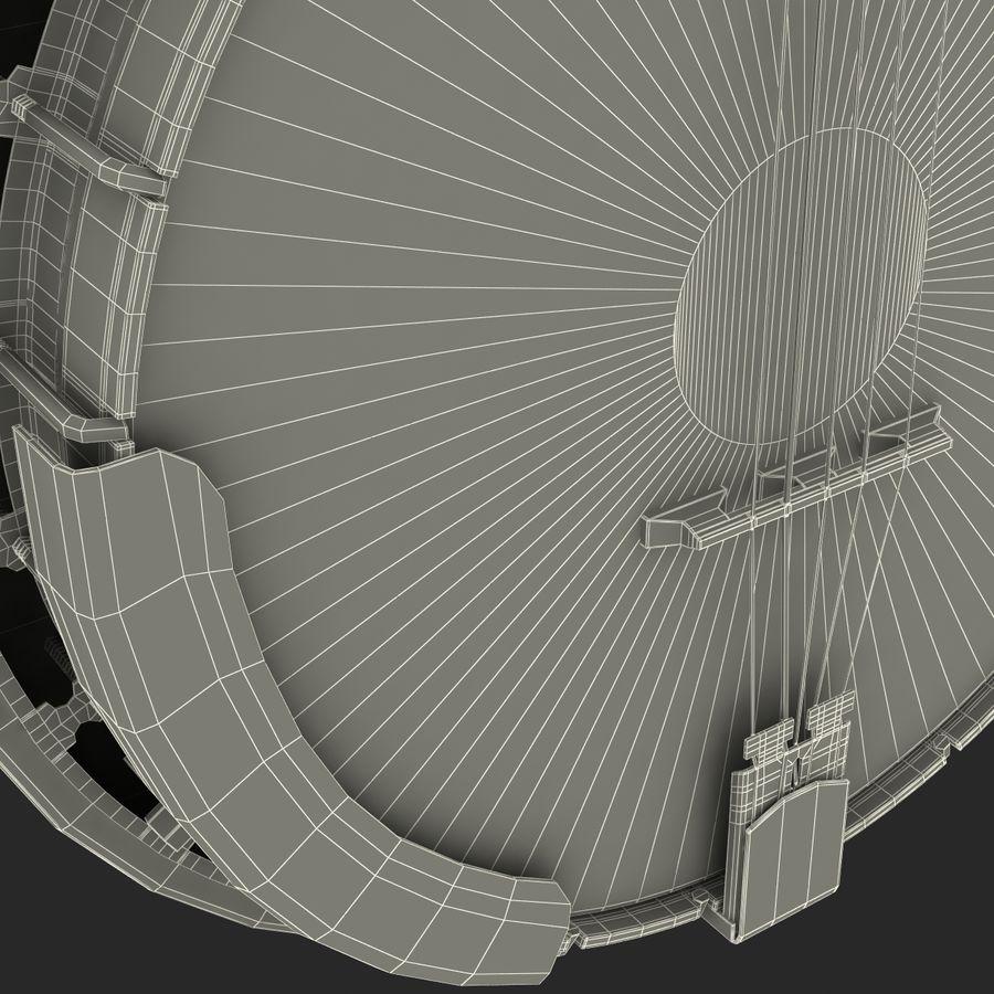 Banjo royalty-free 3d model - Preview no. 26