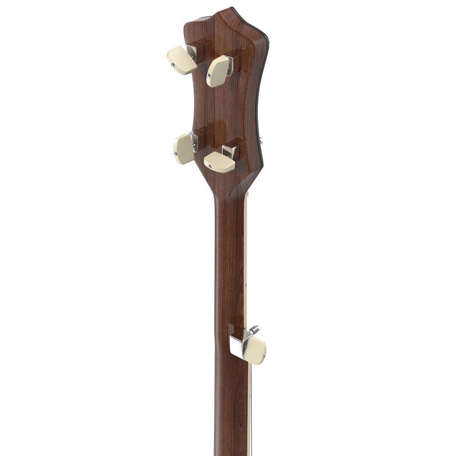 Banjo royalty-free 3d model - Preview no. 12