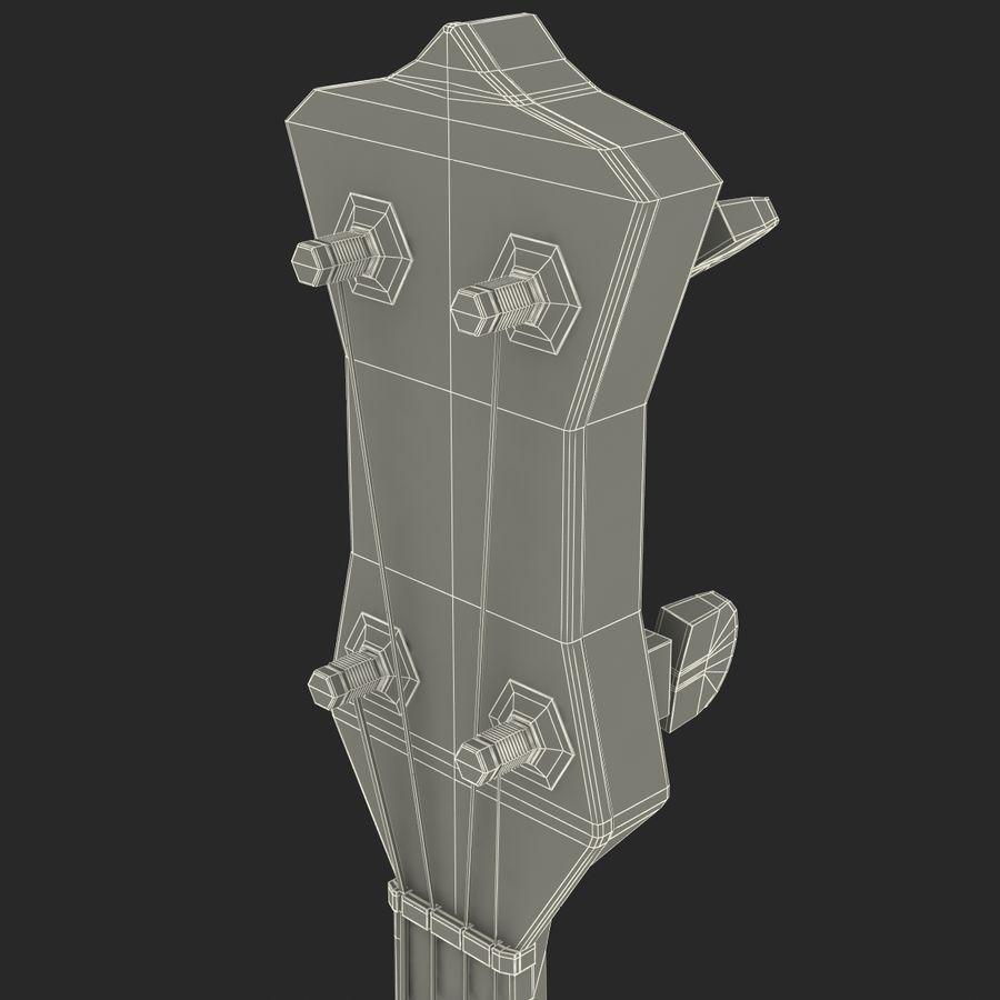 Banjo royalty-free 3d model - Preview no. 27