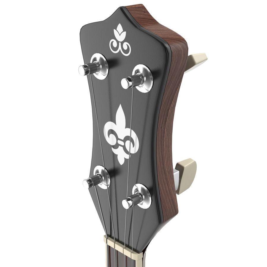 Banjo royalty-free 3d model - Preview no. 19