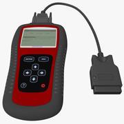 Tarayıcı Kod Okuyucu Autel MaxiScan MS509 3d model