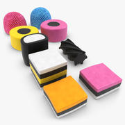 Licorice Allsorts 3d model