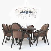 Fendi Casa Dining 3d model