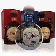Don Julio Tequila Set 3d model