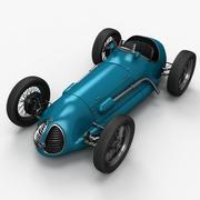 Gammal racerbil 3d model