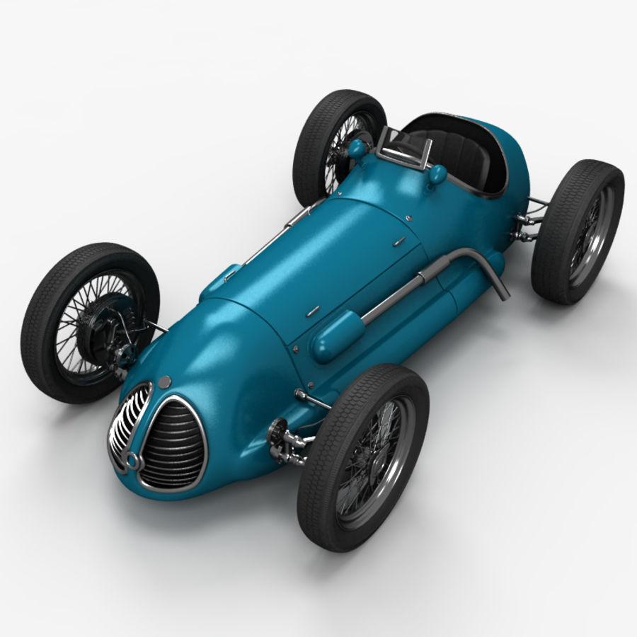 Stary samochód wyścigowy royalty-free 3d model - Preview no. 1