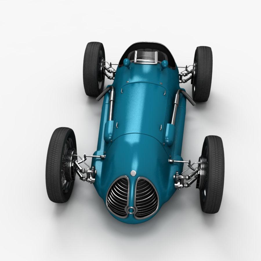 Stary samochód wyścigowy royalty-free 3d model - Preview no. 2