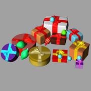 Sammlungen Geschenkboxen 3d model