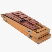 木琴01 3d model
