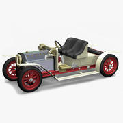 Mamod Steam Roadster 3d model