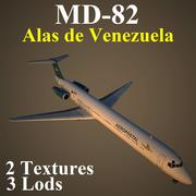MD82 ALV 3d model