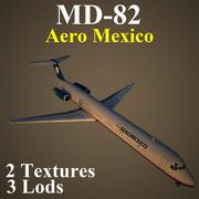 MD82 AMX 3d model