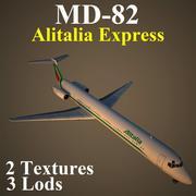 MD82 AZA 3d model
