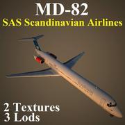 MD82 SAS 3d model