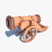 Decoratief kanon 3d model