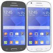 Samsung Galaxy Ace Style Lte серый и белый 3d model