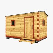 Mobilna sauna 3d model