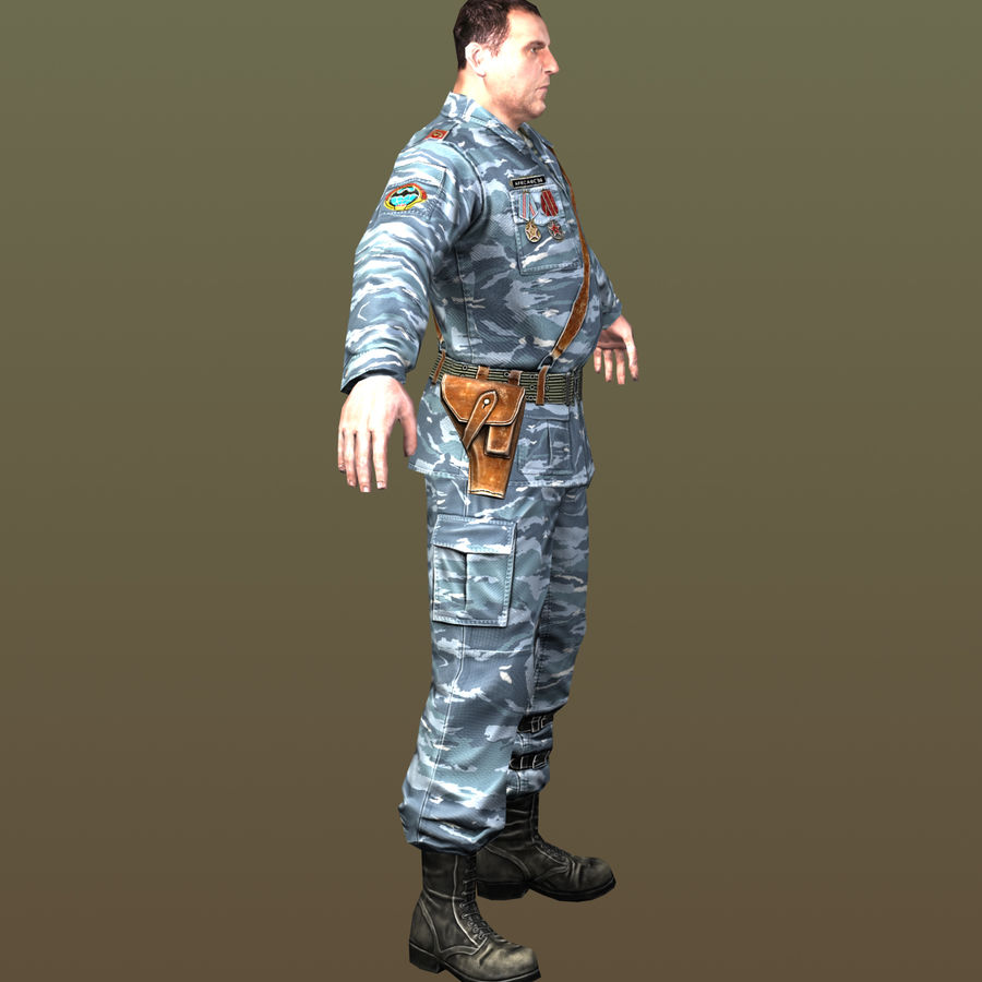 asker royalty-free 3d model - Preview no. 9