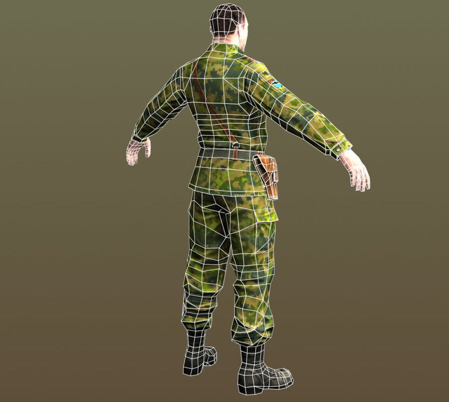 asker royalty-free 3d model - Preview no. 11