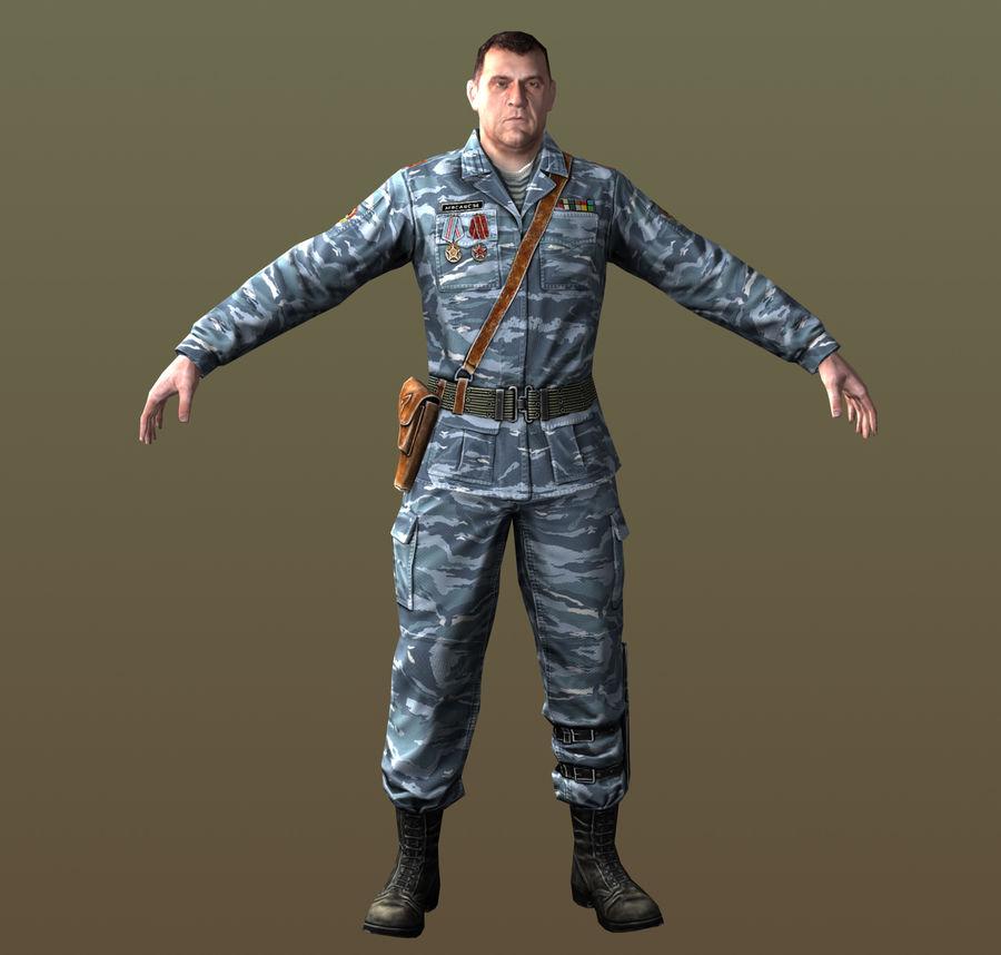 asker royalty-free 3d model - Preview no. 1