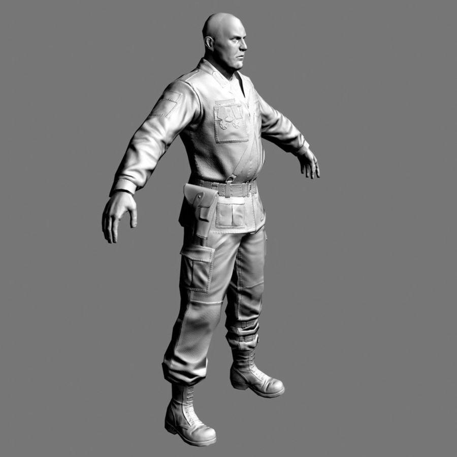 asker royalty-free 3d model - Preview no. 15