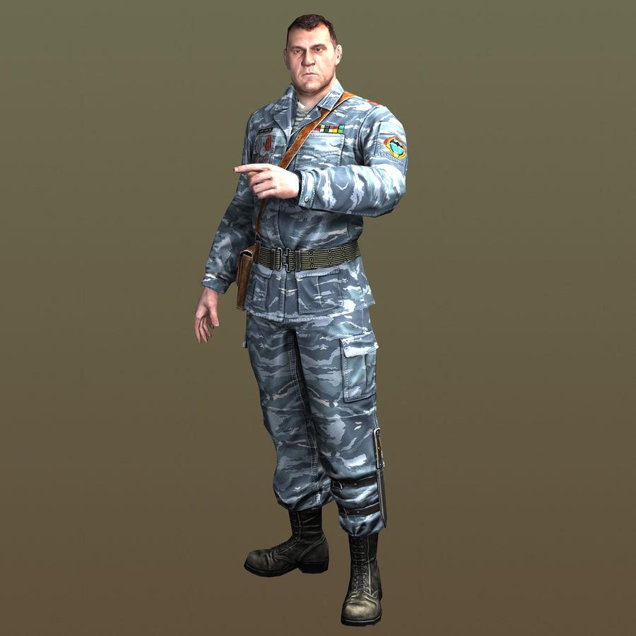 asker royalty-free 3d model - Preview no. 3