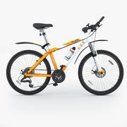 マウンテンバイク 3d model