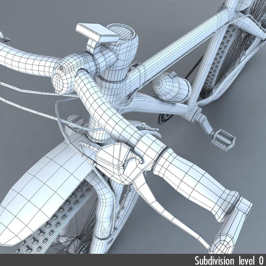 マウンテンバイク royalty-free 3d model - Preview no. 20