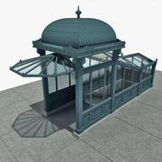 Metro ingang 3d model