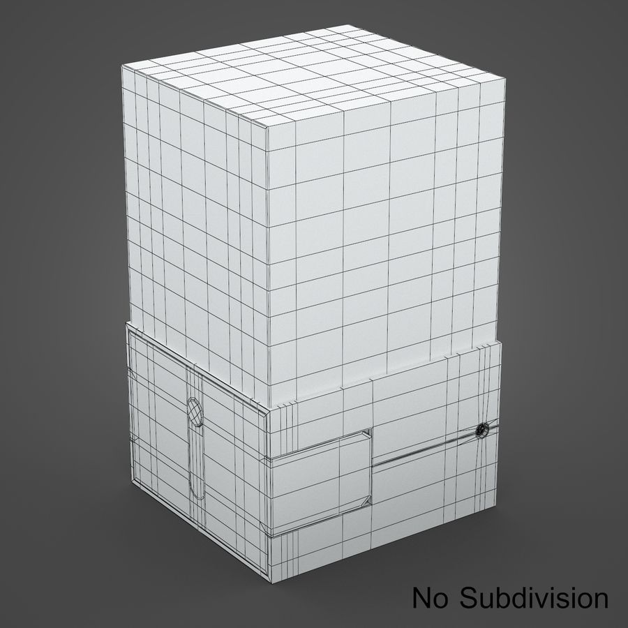 drukarka 3d royalty-free 3d model - Preview no. 11