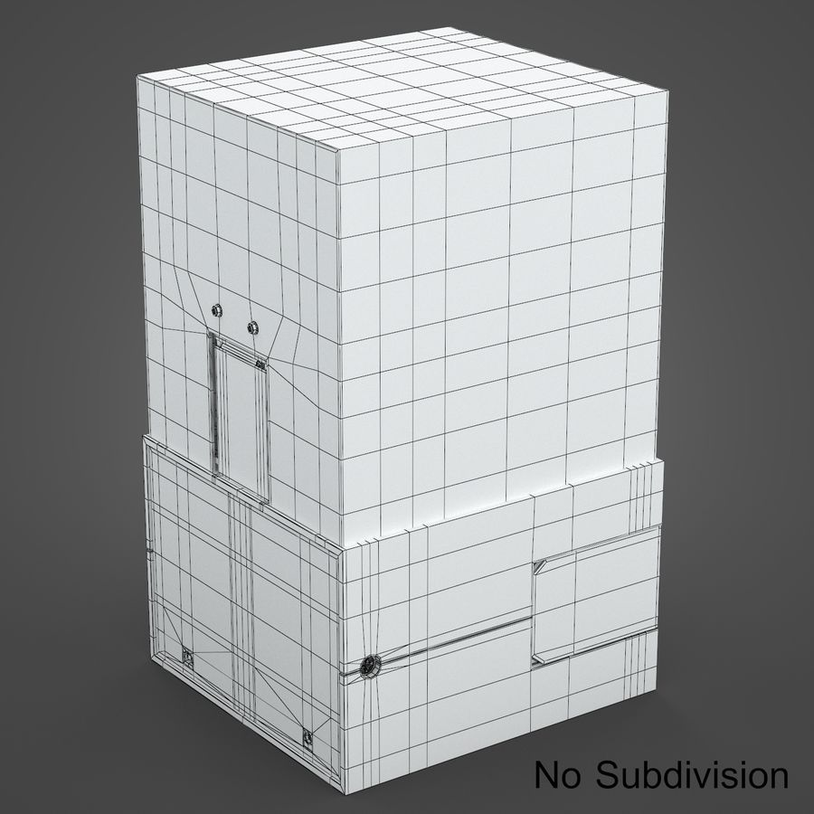 drukarka 3d royalty-free 3d model - Preview no. 10