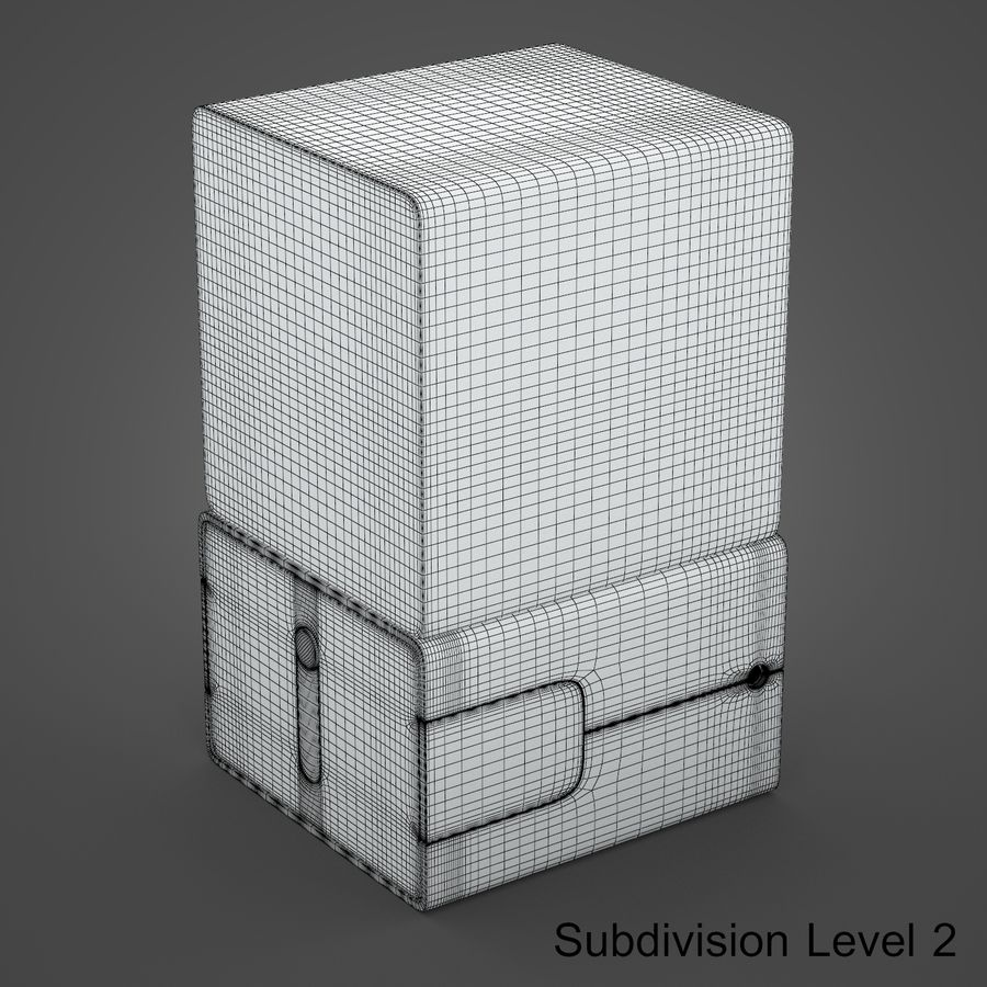 drukarka 3d royalty-free 3d model - Preview no. 14