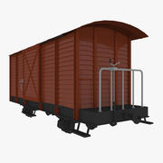 Freight Car 3d model