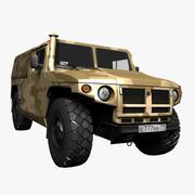 GAZ Tiger Cargo 3d model