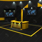 Virtual Set 23 3d model