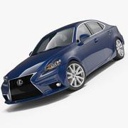 Lexus IS 250 2014 3d model