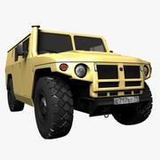 GAZ Tigr Civilian 3d model
