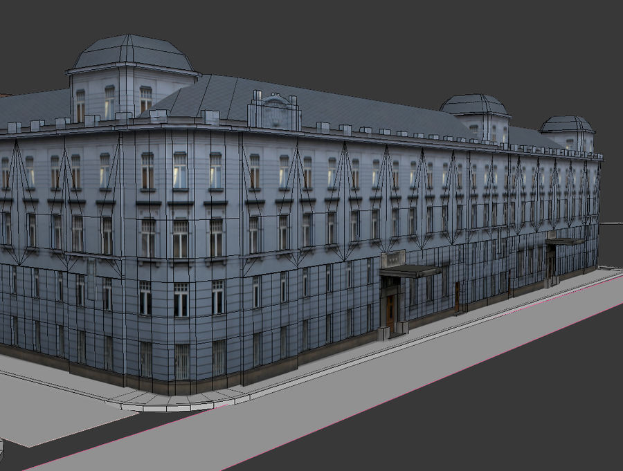stad royalty-free 3d model - Preview no. 18