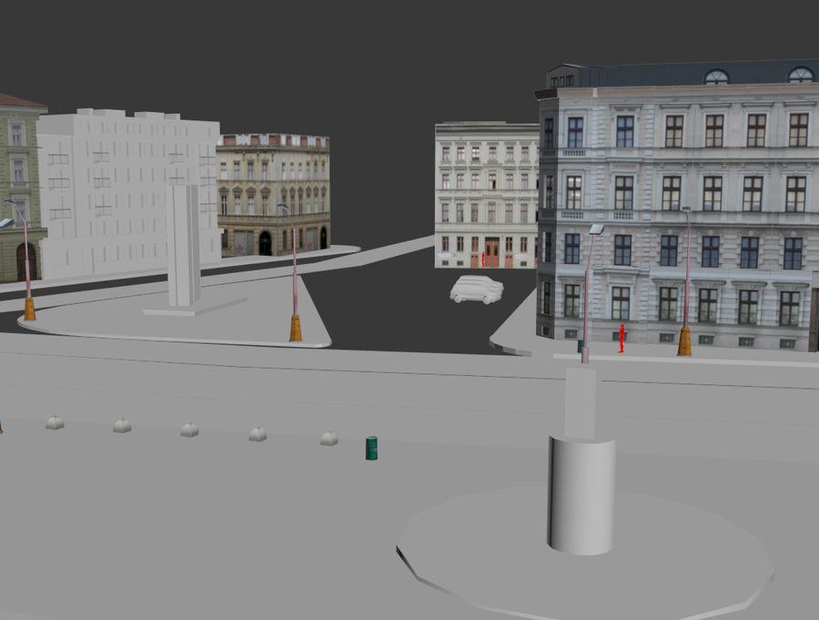 시티 royalty-free 3d model - Preview no. 5