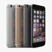 苹果iPhone 6所有颜色 3d model