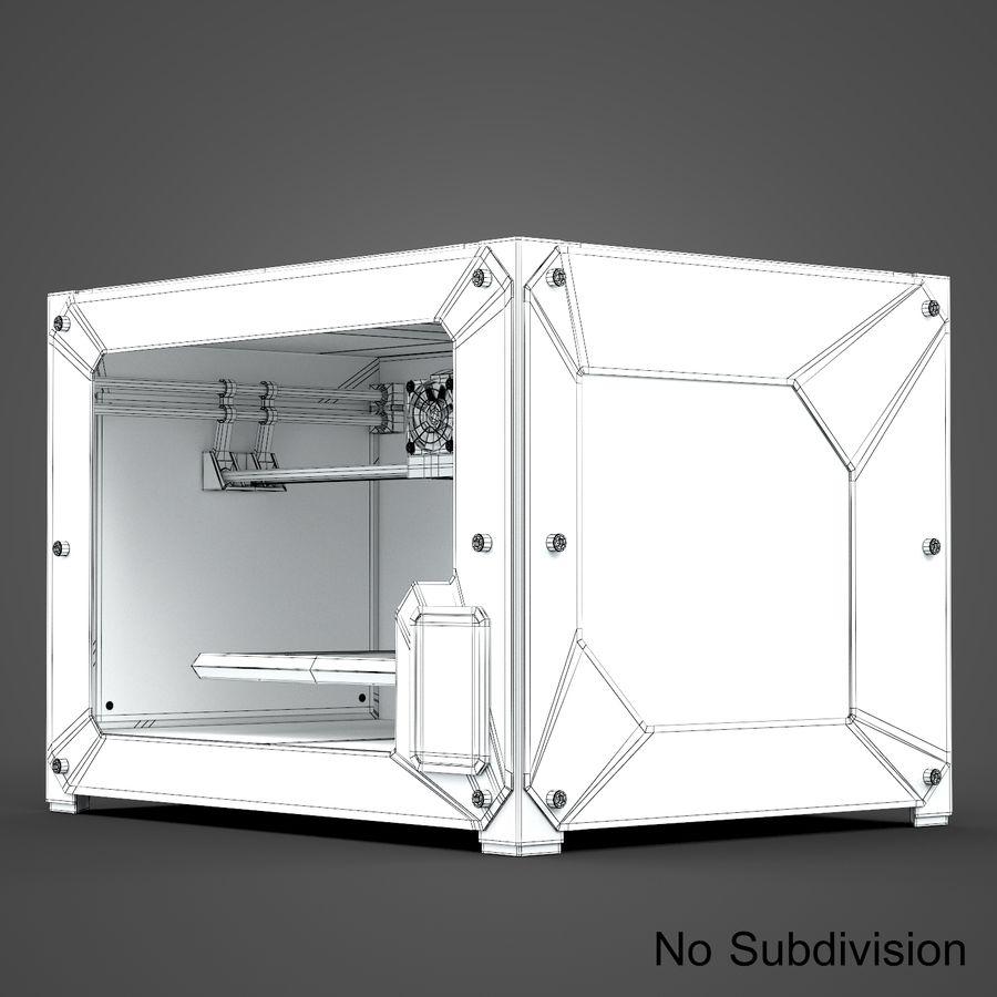 3 boyutlu yazıcı royalty-free 3d model - Preview no. 11