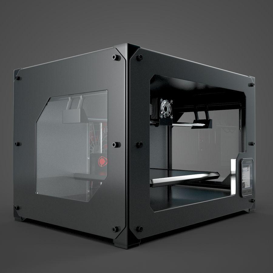 3 boyutlu yazıcı royalty-free 3d model - Preview no. 3