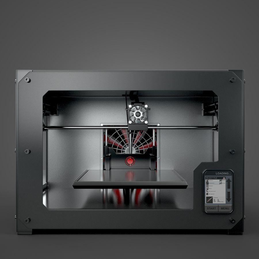 3 boyutlu yazıcı royalty-free 3d model - Preview no. 2