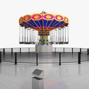 Flying Swing Ride 3d model