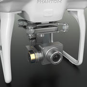 DJI Phantom 2 Quadrocopter modelo 3d