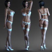 Woman 1 (Rigged) 3d model