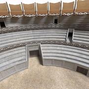 고대 경기장 3d model