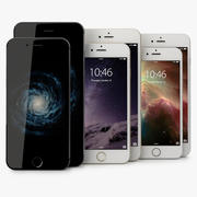 Apple Iphone 6 och Iphone 6 plus 3d model